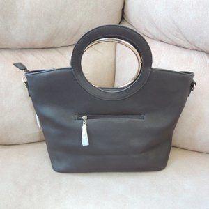 NWT Gorgeous Large Taupe Handbag